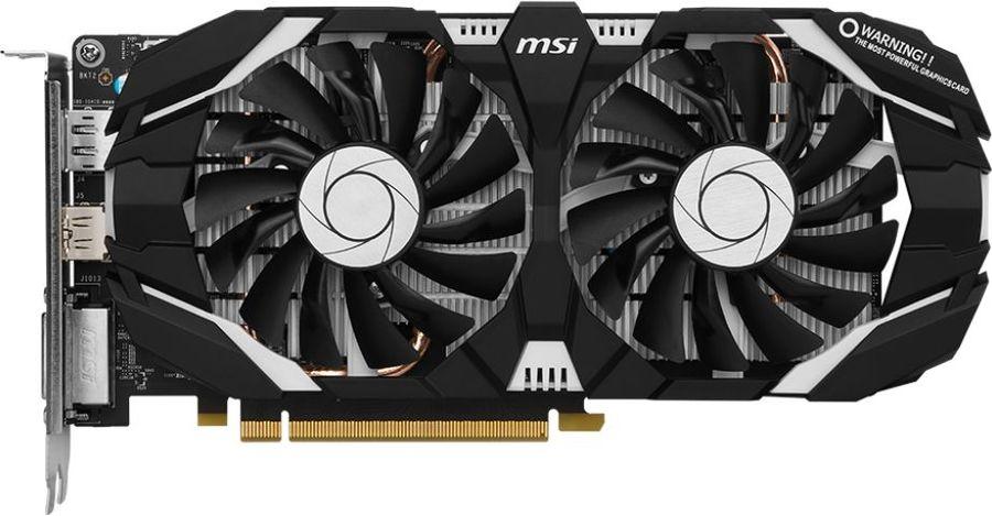 Видеокарта MSI nVidia  GeForce GTX 1060 ,  GTX 1060 6GT V1,  6Гб, GDDR5, Ret