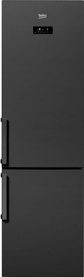 Холодильник BEKO RCNK356E21A,  двухкамерный, антрацит