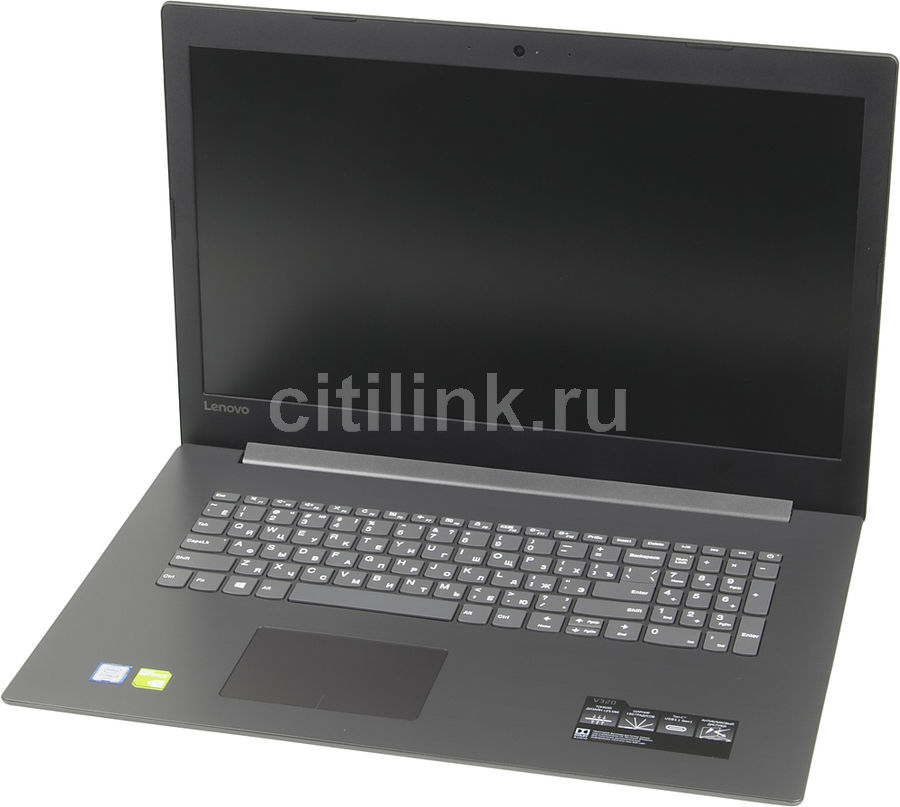 Ноутбук LENOVO V320-17ISK, 17.3, Intel Core i3 6006U 2.0ГГц, 8Гб, 1000Гб, nVidia GeForce 920MX - 2048 Мб, DVD-RW, Windows 10 Professional, 81B6A001RK, серый ноутбук hasee 14 intel i3 3110m dvd rw nvidia geforce gt 635m intel gma hd 4000 2 g k460n