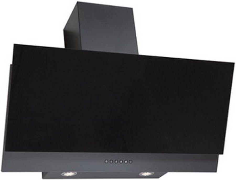 Вытяжка каминная Elikor Рубин S4 90П-700-Э4Д антрацит/черное стекло управление: кнопочное (1 мотор)