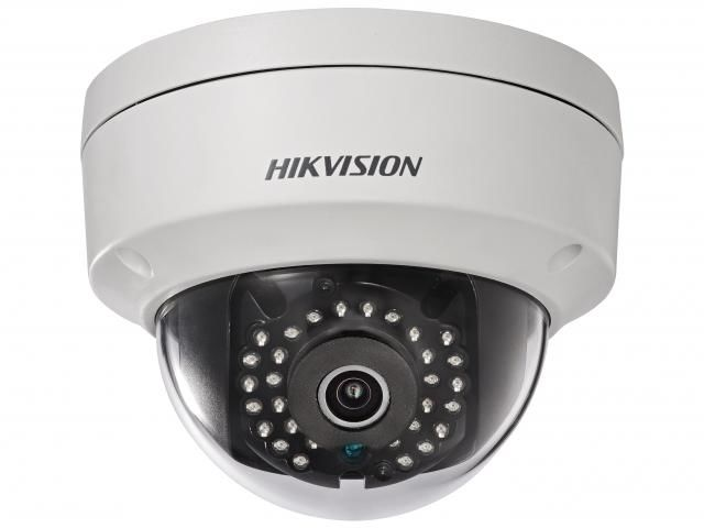 Видеокамера IP HIKVISION DS-2CD1148-I/B,  2.8 мм,  белый