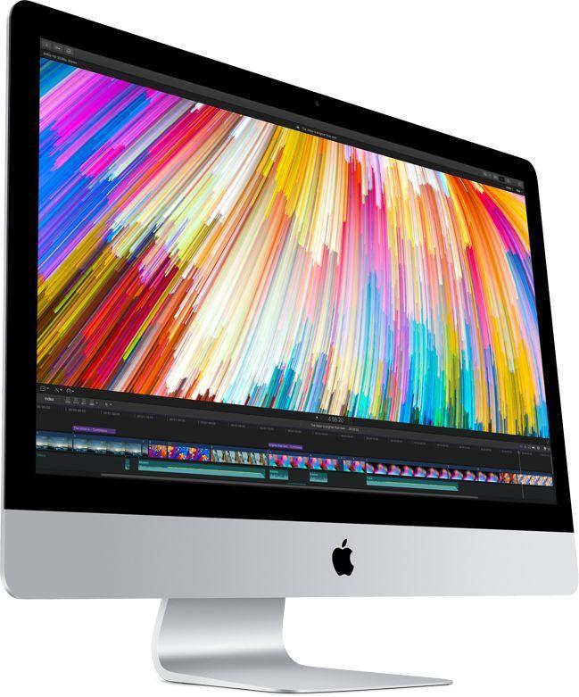 Моноблок APPLE iMac MNE92RU/A, Intel Core i5 7500, 8Гб, 1000Гб, AMD Radeon Pro 570 - 4096 Мб, Mac OS, серебристый и черный
