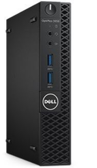 Компьютер DELL Optiplex 3050, Intel Core i5 6500T, DDR4 8Гб, 256Гб(SSD), Intel HD Graphics 530, Linux, черный [3050-8154] компьютер dell optiplex 7050 intel core i5 6500 ddr4 8гб 256гб ssd intel hd graphics 530 dvd rw windows 10 professional черный и серебристый [7050 2585]