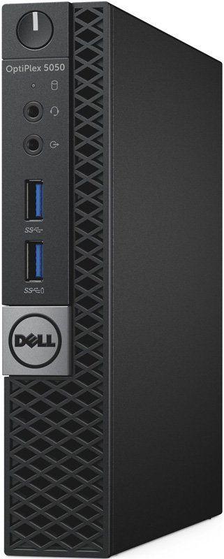 Компьютер  DELL Optiplex 5050,  Intel  Core i3  7100T,  DDR4 4Гб, 128Гб(SSD),  Intel HD Graphics 630,  Linux,  черный [5050-8208]