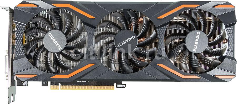 Видеокарта GIGABYTE nVidia  GeForce GTX 1080 ,  GV-N1080D5X-8GD,  8Гб, GDDR5X, OC,  Ret