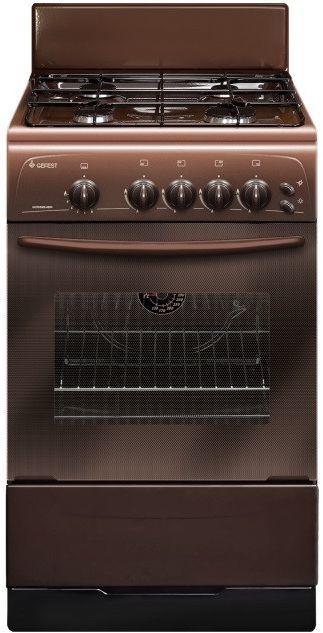 Газовая плита GEFEST ПГ 3200-06 К86,  газовая духовка,  коричневый