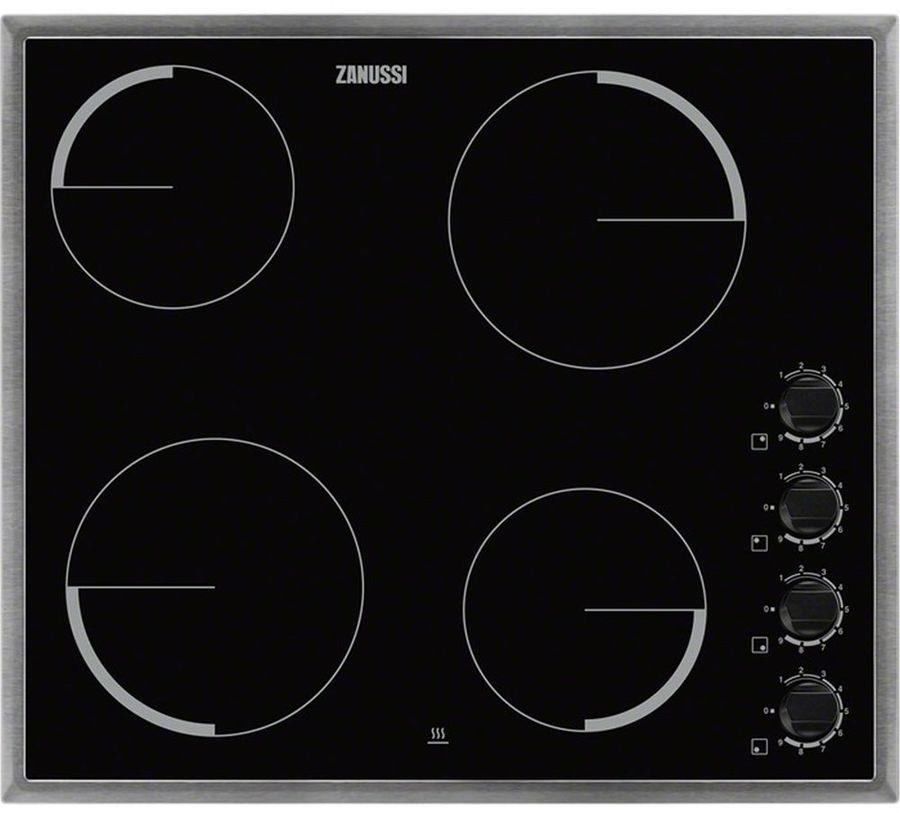 Варочная панель ZANUSSI ZEV56140XB,  электрическая,  независимая,  черный