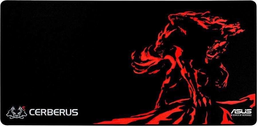 Коврик для мыши ASUS CERBERUS MAT XXL,  черный/красный [90yh01c1-bdua00]