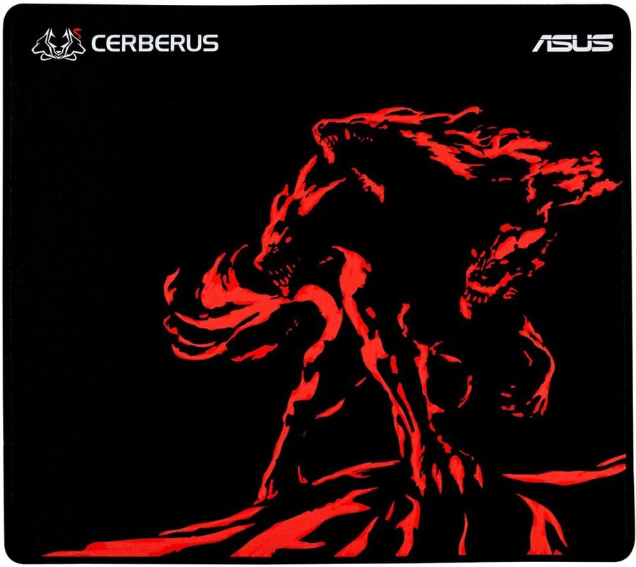 Коврик для мыши ASUS CERBERUS MAT PLUS черный/красный [90yh01c2-bdua00]