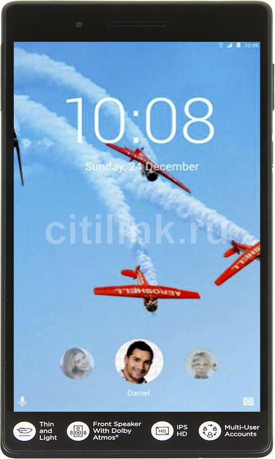 Планшет LENOVO Tab 4 TB-7504X,  1GB, 16GB, 3G,  4G,  Android 7.0 черный [za380077ru]