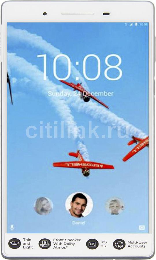 Планшет LENOVO Tab 7 TB-7504X,  2GB, 16GB, 3G,  4G,  Android 7.0 белый [za380087ru]