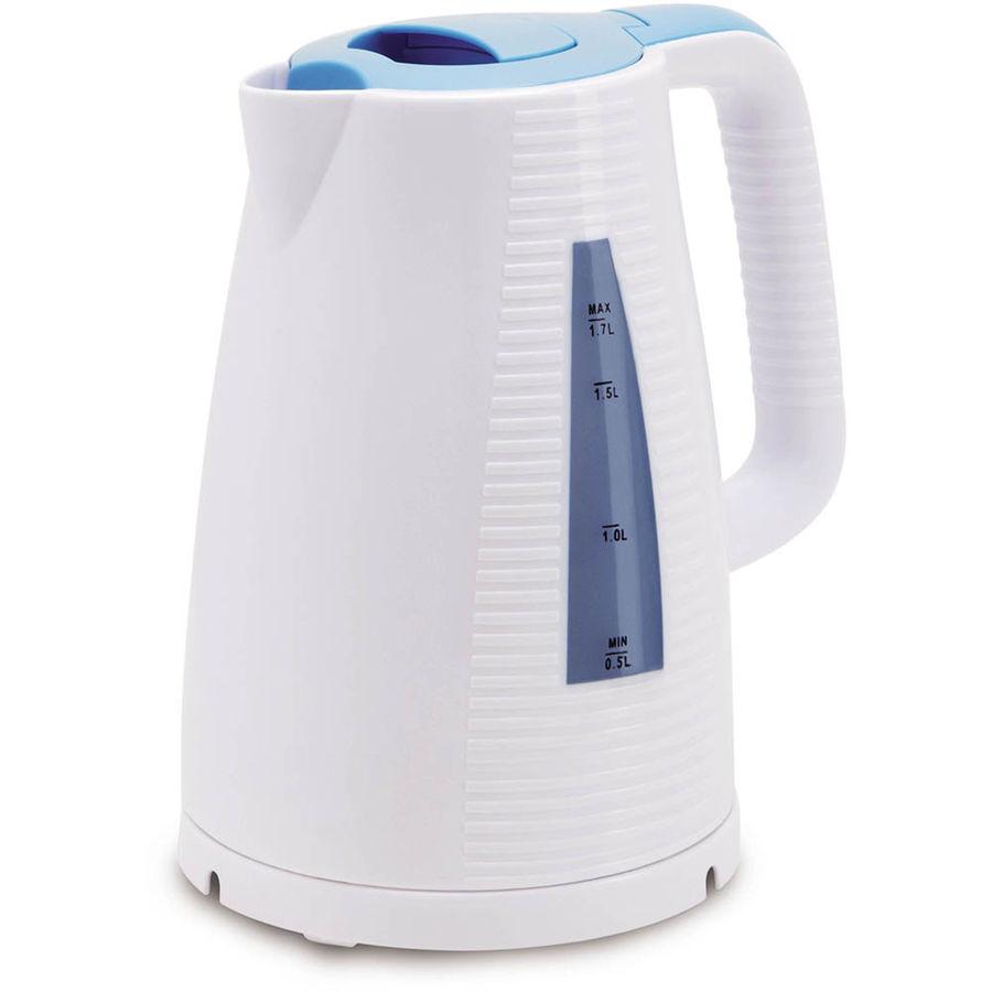 Чайник электрический POLARIS PWK 1743C, 2200Вт, голубой и белый