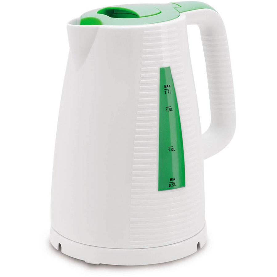 Чайник электрический POLARIS PWK 1743C, 2200Вт, зеленый и белый