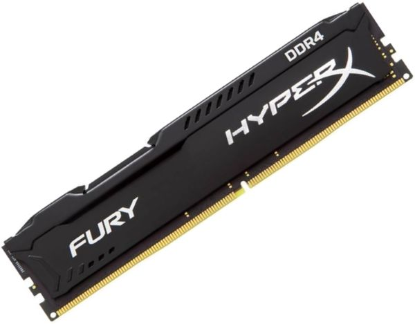 Модуль памяти KINGSTON HyperX FURY HX424C15FB/4 DDR4 -  4Гб 2400, DIMM,  Ret