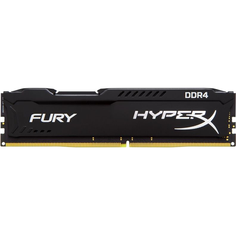 Модуль памяти KINGSTON HyperX FURY Black HX421C14FB/16 DDR4 -  16Гб 2133, DIMM,  Ret
