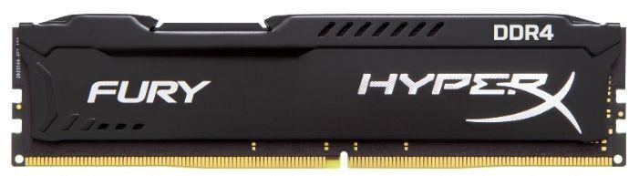 Модуль памяти KINGSTON HyperX FURY Black HX424C15FBK2/8 DDR4 -  2x 4Гб 2400, DIMM,  Ret