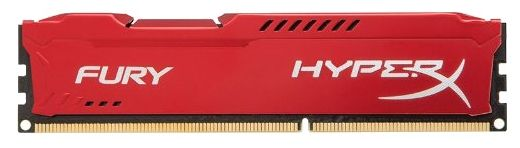 Модуль памяти KINGSTON HyperX FURY Red Series HX421C14FR/16 DDR4 -  16Гб 2133, DIMM,  Ret