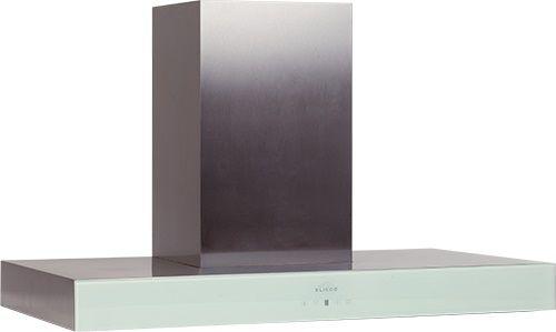 Вытяжка каминная Elikor Агат 90Н-1000-Е4Д нержавеющая сталь/белый управление: сенсорное (1 мотор)