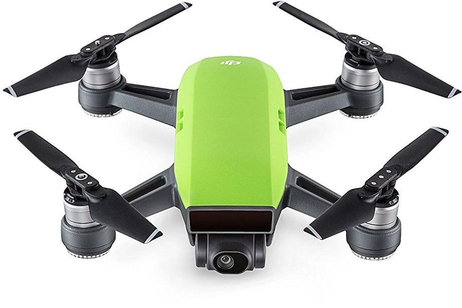 Квадрокоптер DJI Spark fly more COMBO с камерой,  зеленый [36983]