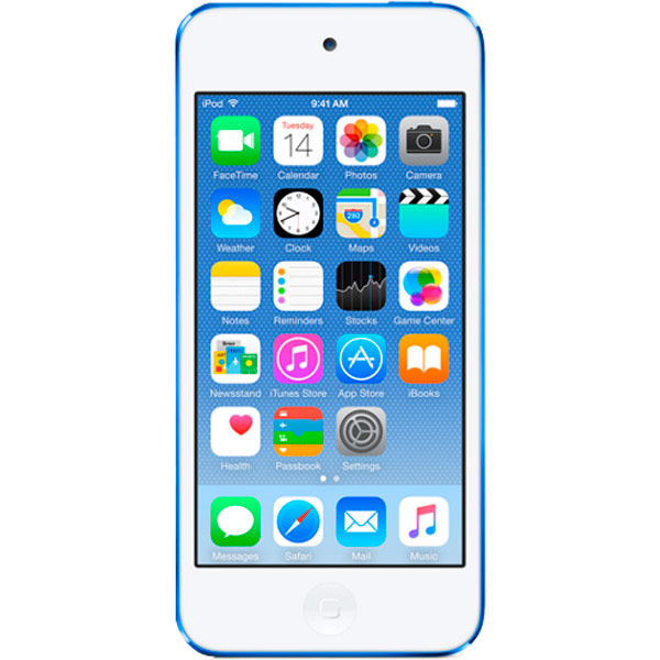MP3 плеер APPLE iPod touch 7 flash 128Гб голубой/белый [mkwp2ru/a (a1421)]