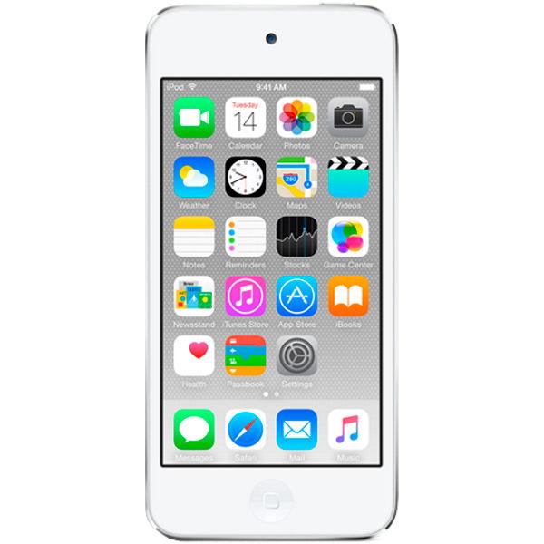 MP3 плеер APPLE iPod touch 7 flash 128Гб серебристый/белый [mkwr2ru/a (a1421)]
