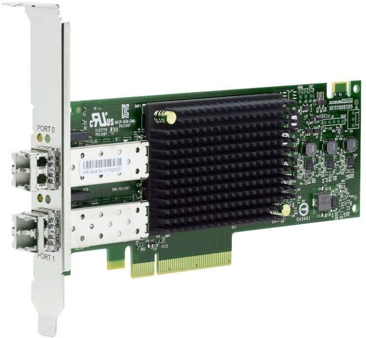 Адаптер HPE SN1200E 16Gb 2P FC HBA (Q0L14A)