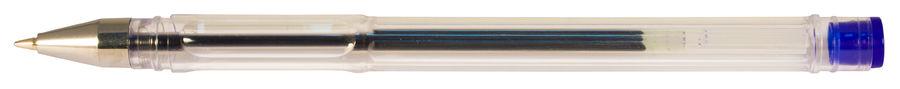 Ручка гелевая Silwerhof LACONIC (026160-01) 0.7мм синие чернила коробка картонная