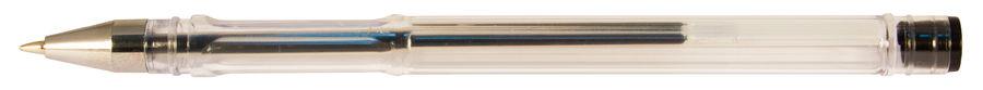 Ручка гелевая Silwerhof LACONIC (026160-02) 0.7мм черные чернила коробка картонная