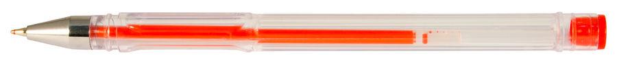 Ручка гелевая Silwerhof LACONIC (026160-04) 0.7мм красные чернила коробка картонная