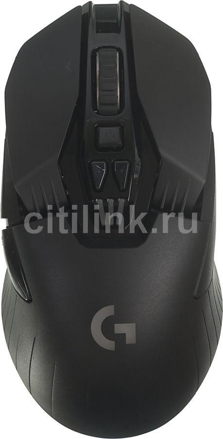 Мышь LOGITECH G903 LIGHTSPEED, игровая, оптическая, беспроводная, USB, черный [910-005084]