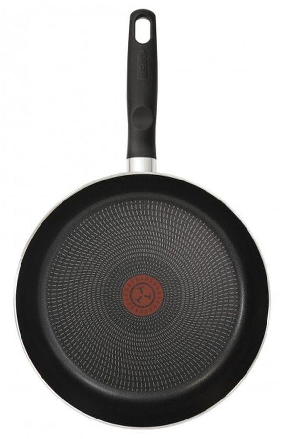 Сковорода TEFAL Extra 04165924, 24см, с крышкой,  черный [9100023394]