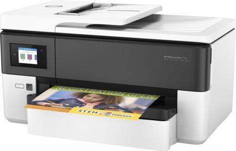 МФУ струйный HP Officejet Pro 7720, A3, цветной, струйный, белый [y0s18a]