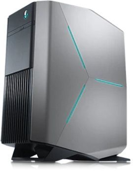 Компьютер  DELL Alienware Aurora R6,  Intel  Core i7  7700,  DDR4 32Гб, 1000Гб,  512Гб(SSD),  2 х NVIDIA GeForce GTX 1070 - 8192 Мб,  DVD-RW,  Windows 10 Home,  черный [r6-4827]