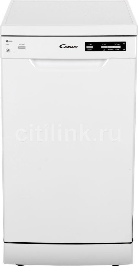Посудомоечная машина CANDY CDP 2D1149W-07,  узкая, белая [32001048]