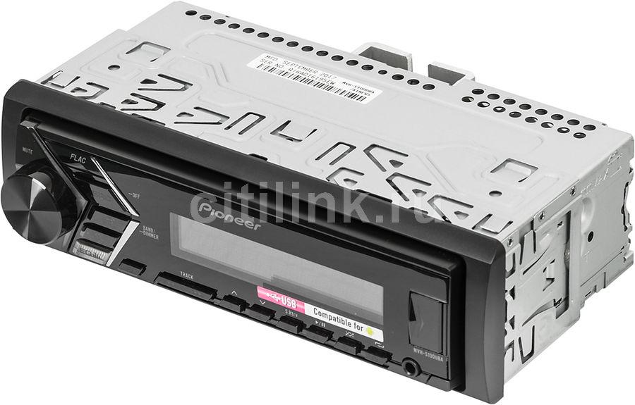Автомагнитола PIONEER MVH-S100UBA,  USB