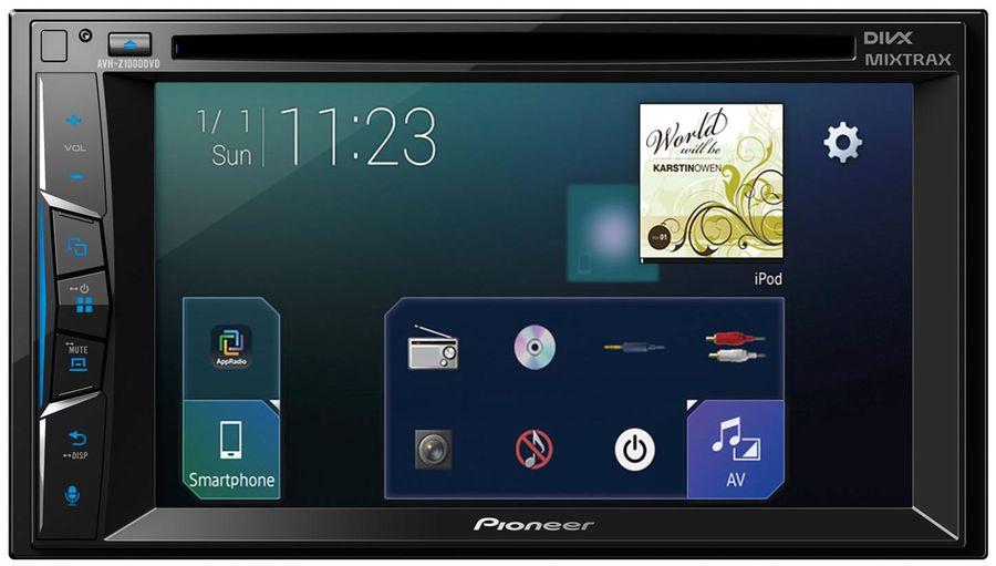 Автомагнитола PIONEER AVH-Z1000DVD,  USB