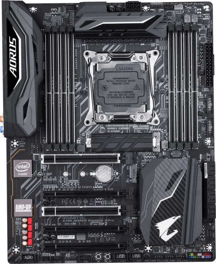Материнская плата GIGABYTE X299 AORUS GAMING 3 Pro, LGA 2066, Intel X299, ATX, Ret