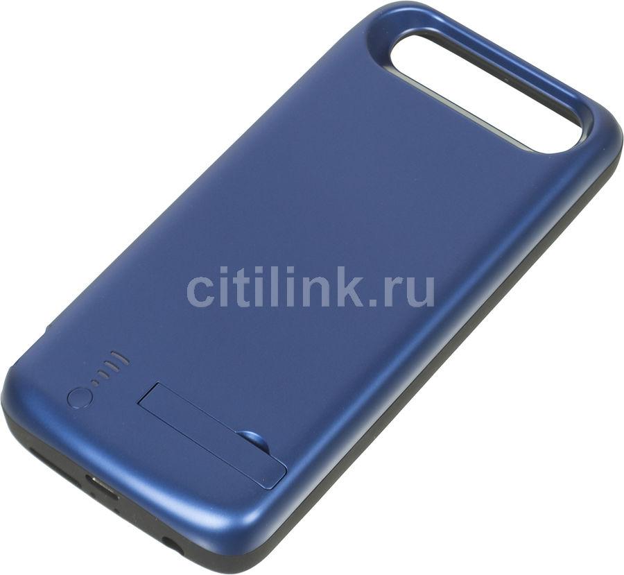 Внешний мод батарея DF hwBattery-01 для Huawei Honor 9 6500mAh USB Type-C синий (DF HWBATTERY-01 (BL [df hwbattery-01 (blue)]