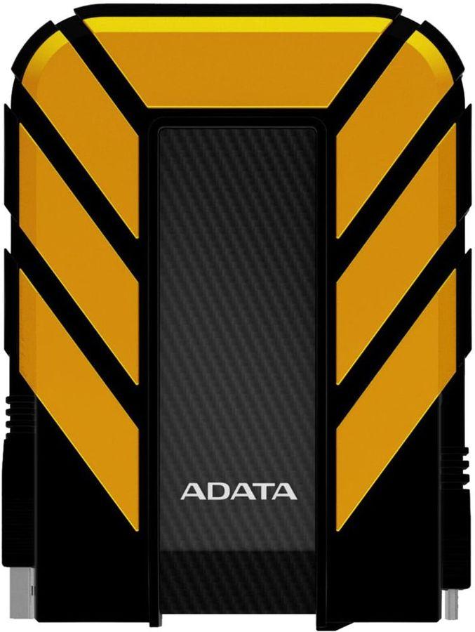 Внешний жесткий диск A-DATA DashDrive Durable AHD710-2TU3-CYL, 2Тб, черный