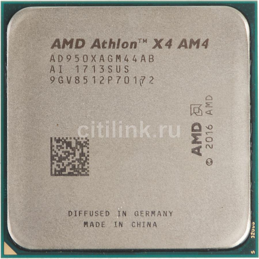 Процессор AMD Athlon X4 950, SocketAM4,  OEM [ad950xagm44ab]