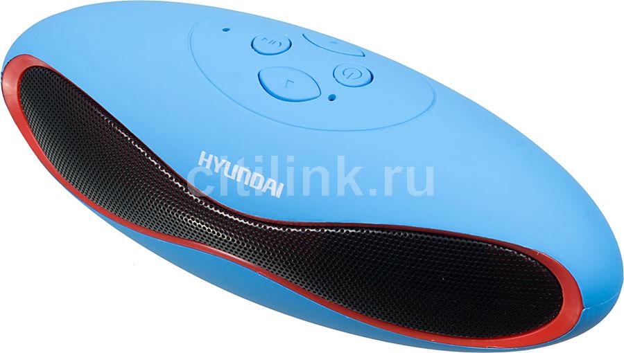 Портативная колонка HYUNDAI H-PAC120,  3Вт, синий