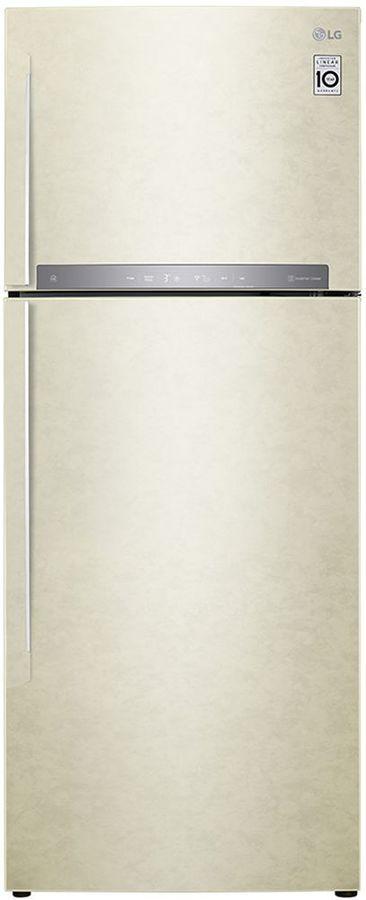 Холодильник LG GC-H502HEHZ,  двухкамерный, бежевый