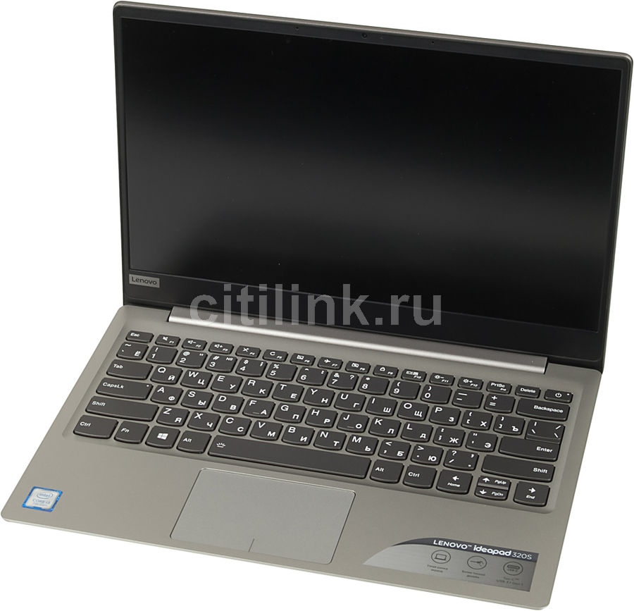 Ноутбук LENOVO IdeaPad 320S-13IKB, 13.3, Intel Core i3 7100U 2.4ГГц, 4Гб, 128Гб SSD, Intel HD Graphics 620, Windows 10, серый [81ak001rrk]Ноутбуки<br>экран: 13.3;  разрешение экрана: 1920х1080; тип матрицы: IPS; процессор: Intel Core i3 7100U; частота: 2.4 ГГц; память: 4096 Мб, DDR4; SSD: 128 Гб; Intel HD Graphics 620; WiFi;  Bluetooth; HDMI; WEB-камера; Windows 10<br><br>Линейка: IdeaPad