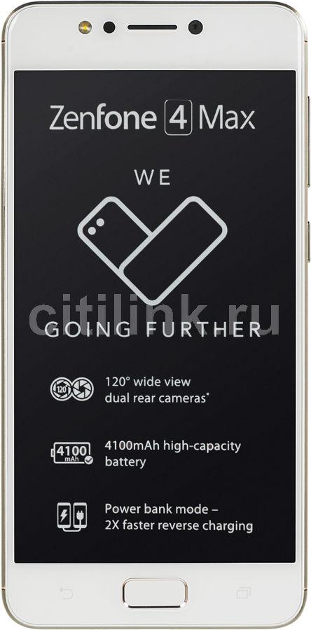 """Смартфон Asus ZenFone Max ZF4 ZC520KL 32Gb золотистый моноблок 3G 4G 2Sim 5.2"""" IPS (отремонтированный)"""