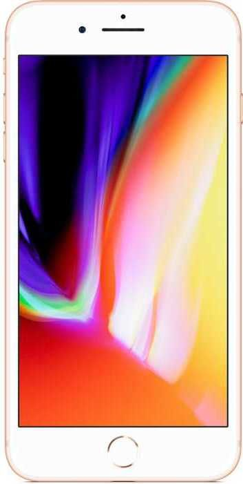 Смартфон APPLE iPhone 8 Plus 256Gb, MQ8R2RU/, золотистый