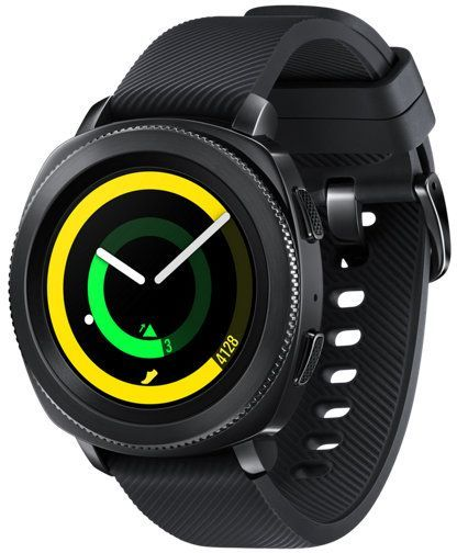 цена на Смарт-часы SAMSUNG Galaxy Gear Sport, 1.2, черный / черный [sm-r600nzkaser]