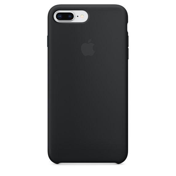 Чехол (клип-кейс) APPLE Silicone Case, для Apple iPhone 7 Plus/8 Plus, черный [mqgw2zm/a]