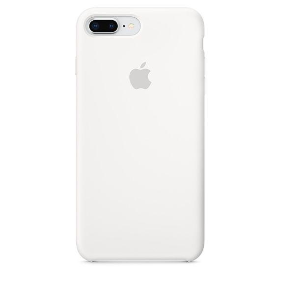 Чехол (клип-кейс) APPLE Silicone Case, для Apple iPhone 7 Plus/8 Plus, белый [mqgx2zm/a]
