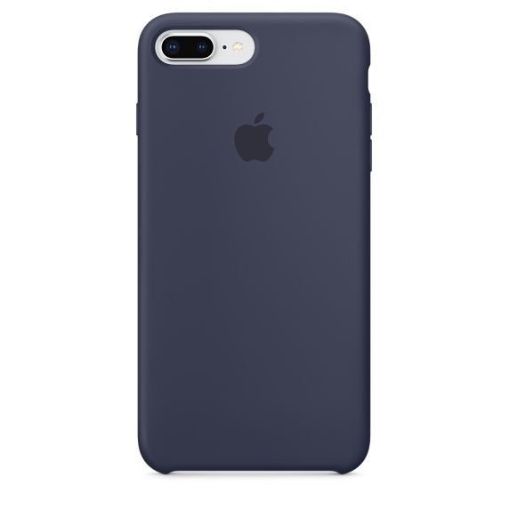 Чехол (клип-кейс) APPLE MQGY2ZM/A, для Apple iPhone 7 Plus/8 Plus, темно-синий apple чехол клип кейс apple для apple iphone 7 mmy52zm a черный