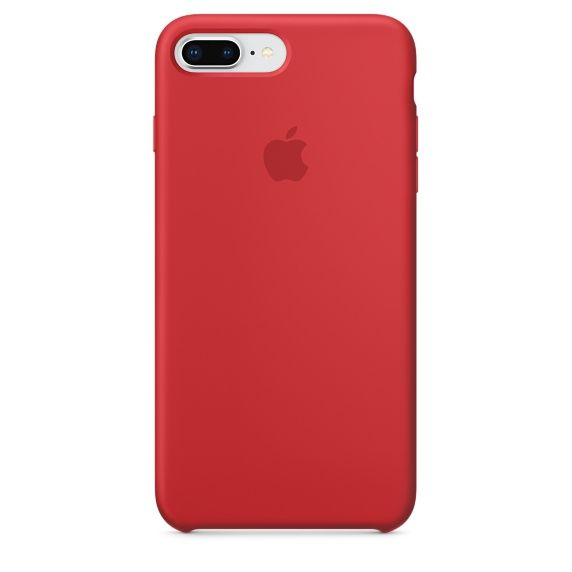 Чехол (клип-кейс) APPLE MQH12ZM/A, для Apple iPhone 7 Plus/8 Plus, красный apple чехол клип кейс apple для apple iphone 7 mmy52zm a черный
